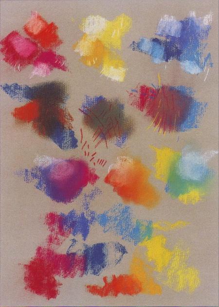 Рисовать пастелью на бумаге